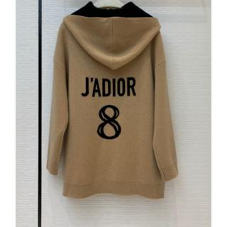 ディオール(Dior)のDIOR J'ADIOR 8 フーディー カシミア セーター(ニット/セーター)