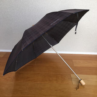 バーバリーブルーレーベル(BURBERRY BLUE LABEL)のバーバリーブルーレーベル Burberry 折り畳み日傘(傘)