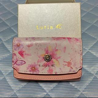 ヨンドシー(4℃)の限定タイムセール Luria 4℃  ルリア4℃  フラワープリント 三折り財布(財布)