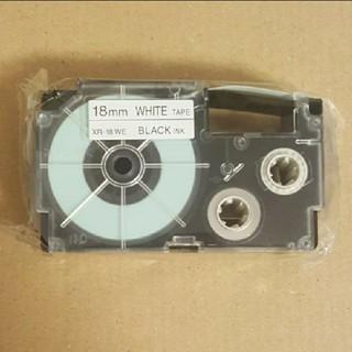 CASIO - CASIO ネームランド テープ 白 18mm