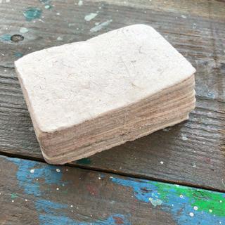 素朴な手漉き 和紙 約50枚程(カード/レター/ラッピング)