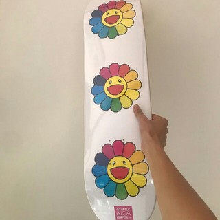 メディコムトイ(MEDICOM TOY)の村上隆  スケボー スケートボード(スケートボード)
