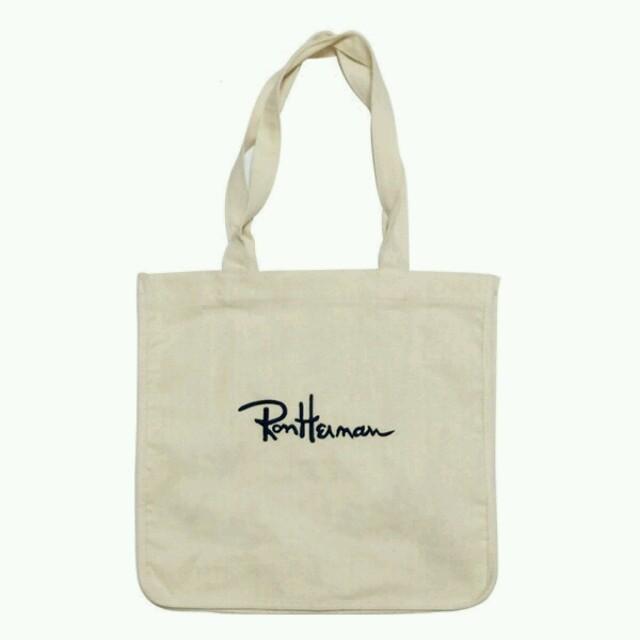 Ron Herman(ロンハーマン)の白 ロンハーマントートバッグ レディースのバッグ(トートバッグ)の商品写真