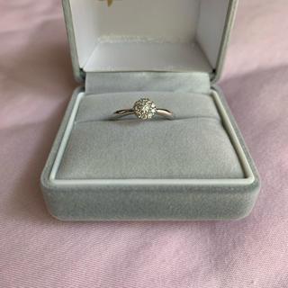 指輪 ダイヤ×ホワイトゴールド(リング(指輪))