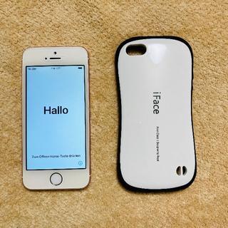 アップル(Apple)のiPhone SE (第一世代) ローズゴールド 32GB 9/19まで値下(携帯電話本体)
