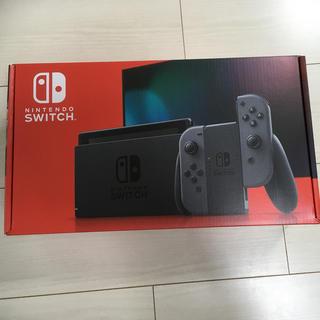 ニンテンドースイッチ(Nintendo Switch)のSwitch20年9月6日購入 本体 ニンテンドースイッチ グレー(家庭用ゲーム機本体)