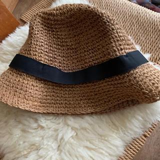ケービーエフ(KBF)の売約済みジュート素材の帽子(麦わら帽子/ストローハット)