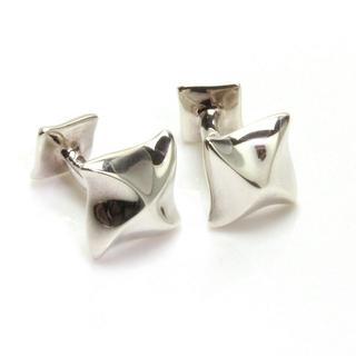 ティファニー(Tiffany & Co.)のアンジェラカミングス カフス シルバー 925 スクエア ティファニー(カフリンクス)
