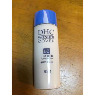 ディーエイチシー(DHC)のDHC ワンダーカバー BBリキッド  ナチュラルオークル01(BBクリーム)