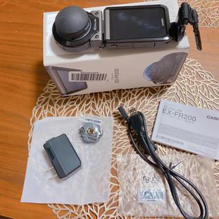 カシオ(CASIO)の専用ページ CASIO Exilim EX-FR200(コンパクトデジタルカメラ)