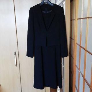 ベルメゾン(ベルメゾン)の🎩フォーマル服🎩 ボレロ付きブラックフォーマル3点セット(礼服/喪服)