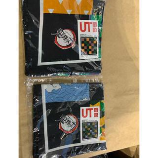 ユニクロ(UNIQLO)のユニクロ 鬼滅の刃 ノベルティ バンダナ 二枚 セット(バンダナ/スカーフ)