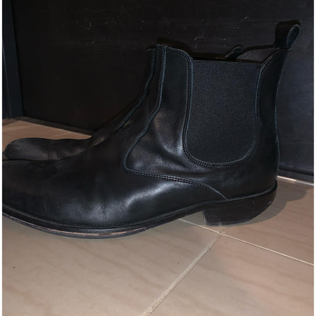 JOHN LAWRENCE SULLIVAN(ジョンローレンスサリバン)のサイドゴアブーツ sullen 古着 メンズの靴/シューズ(ブーツ)の商品写真