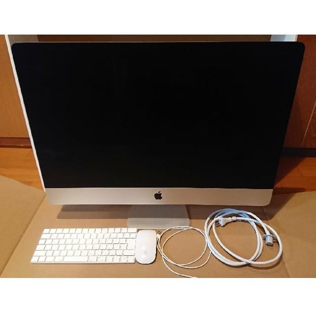 Apple(アップル)の【ほぼ未使用】iMac Retina5K 27inch 2017 2019年購入 スマホ/家電/カメラのPC/タブレット(デスクトップ型PC)の商品写真