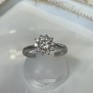 ダイヤモンドリング pt900 0.55ct  お買得‼︎(リング(指輪))