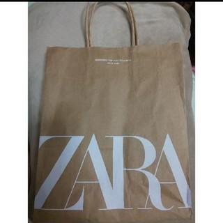 ザラ(ZARA)のZARA ショップ紙袋 約28cm×32cm×10cm(ショップ袋)