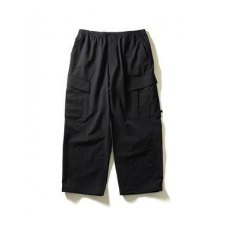 ワンエルディーケーセレクト(1LDK SELECT)の新品 daiwa pier39 6p pants black M ennoy(ワークパンツ/カーゴパンツ)