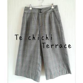 テチチ(Techichi)の美品 Te chichi terrace テチチテラス グレンチェック パンツ(その他)