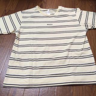 ルーカ(RVCA)のルーカ RVCA Tシャツ トップス メンズ レディース 半袖 ボーダー S(Tシャツ/カットソー(半袖/袖なし))