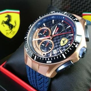 フェラーリ(Ferrari)の新品★国内未販売☆公式フェラーリ《Race Day》2020New上級モデル☆(腕時計(アナログ))
