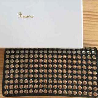 ビームス(BEAMS)の美品中古 Ray Beams 長財布 箱なし ブラック(箱あり¥4,000)(財布)