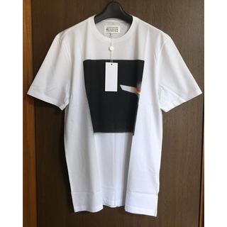 マルタンマルジェラ(Maison Martin Margiela)の白52新品 メゾン マルジェラ Tシャツ スプレー ホワイト メンズ カットソー(Tシャツ/カットソー(半袖/袖なし))