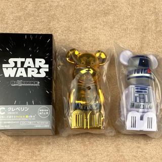 メディコムトイ(MEDICOM TOY)のクレベリン ベアブリック スターウォーズ C-3PO R2-D2 2個セット(SF/ファンタジー/ホラー)