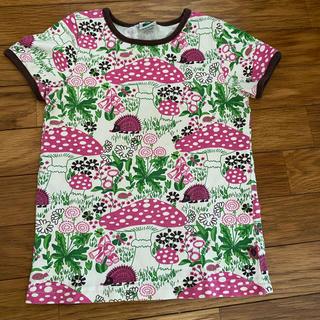 スマフォルク 86〜92 レトロ Tシャツ きのこ(Tシャツ/カットソー)