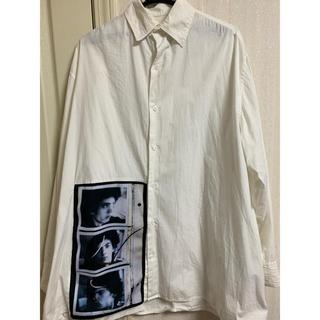 ラフシモンズ(RAF SIMONS)のRAF SIMONS ロバートメープルソープ ビックシャツ(シャツ)