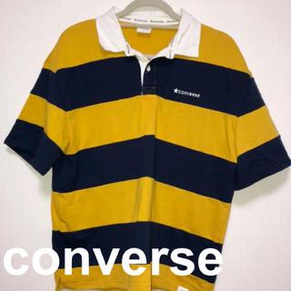 コンバース(CONVERSE)のconverse ラガーシャツ(Tシャツ(半袖/袖なし))