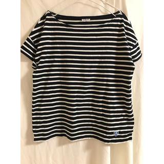 オーシバル(ORCIVAL)のオーシバル 黒×白 ボーダー バスクTシャツ(Tシャツ(半袖/袖なし))