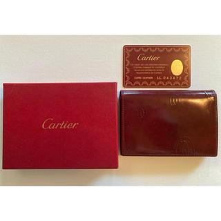 カルティエ(Cartier)のカルティエの名刺入れ(名刺入れ/定期入れ)