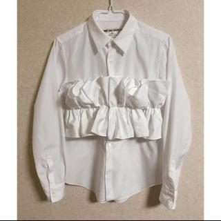 コムデギャルソン(COMME des GARCONS)のコムデギャルソン シャツ comme des garcons ブラウス(Tシャツ(長袖/七分))