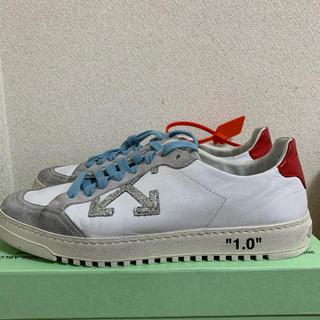 オフホワイト(OFF-WHITE)のoff-white 2.0 sneaker / wht red 43(スニーカー)