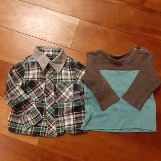 男の子 長袖 ロンT  シャツ セット (Tシャツ)