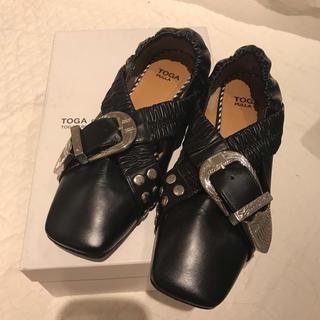 トーガ(TOGA)の値下げ!TOGA PULLA バックルシューズ(ローファー/革靴)
