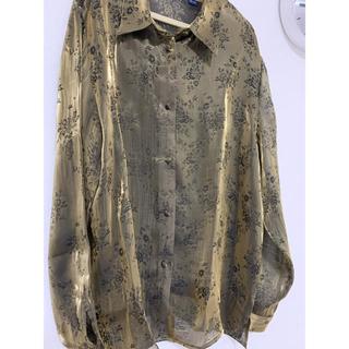アクネ(ACNE)のLuik vintage シアーシャツ(シャツ/ブラウス(長袖/七分))