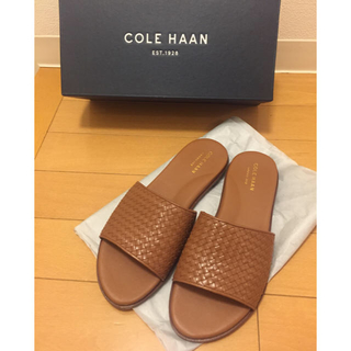 コールハーン(Cole Haan)のCOLEHAAN✨レザーサンダル 23cm(サンダル)