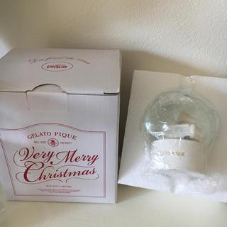 ジェラートピケ(gelato pique)のジェラートピケ スノードーム ノベルティ クリスマス(ノベルティグッズ)