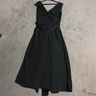 アーバンリサーチ(URBAN RESEARCH)のアーバンリサーチ ドレス グリーン(ロングドレス)