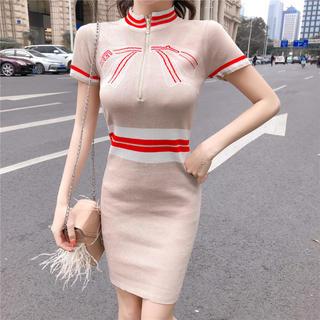 ジュエルズ(JEWELS)の【残り1点】リボンデザインワンピース ドレス(ナイトドレス)