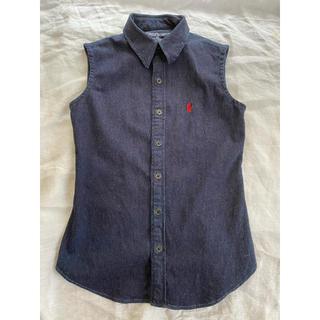 ポロラルフローレン(POLO RALPH LAUREN)のPOLO Sport ノースリーブシャツ Sサイズ(シャツ/ブラウス(半袖/袖なし))