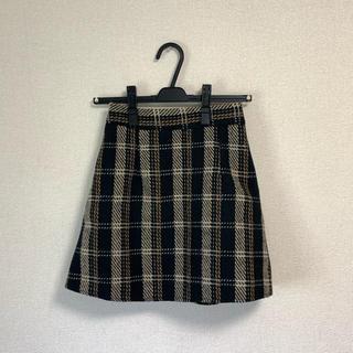 Lochie - チェックスカート 台形スカート