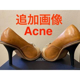 アクネ(ACNE)の追加画像 acne アクネ ハイヒール パンプス ブローグ ウィングチップ (ハイヒール/パンプス)