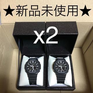 ジーショック(G-SHOCK)の★新品未使用★ GA-2100-1AJF  G-SHOCK x2(腕時計(アナログ))