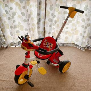 ディズニー(Disney)のディズニー 子供用 三輪車 室内のみ走行しました(三輪車)