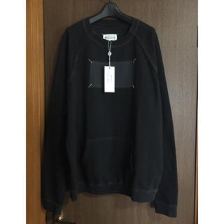 マルタンマルジェラ(Maison Martin Margiela)の黒46新品 メゾン マルジェラ Memory of オーバーサイズ スウェット(スウェット)