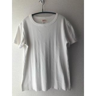 ビームス(BEAMS)のヘルスニットHealthknitリブクルーTシャツ(Tシャツ(半袖/袖なし))