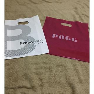 フランフラン(Francfranc)のショップ ビニール袋(ショップ袋)