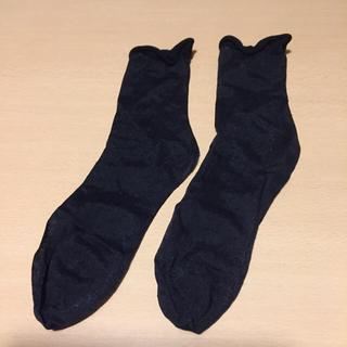 クツシタヤ(靴下屋)のしばちゃん様 専用 黒と白 2足(ソックス)